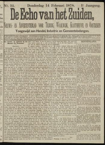 Echo van het Zuiden 1878-02-14
