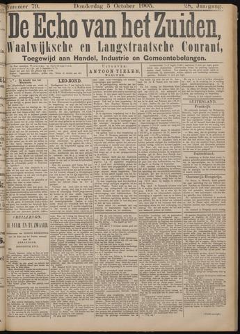 Echo van het Zuiden 1905-10-05