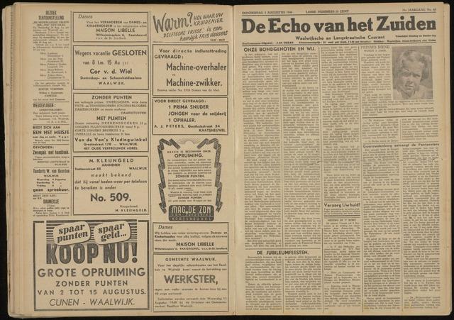 Echo van het Zuiden 1948-08-05