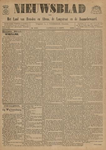 Nieuwsblad het land van Heusden en Altena de Langstraat en de Bommelerwaard 1896-09-05