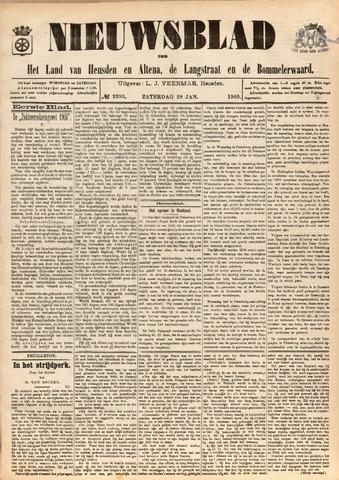 Nieuwsblad het land van Heusden en Altena de Langstraat en de Bommelerwaard 1905-01-28