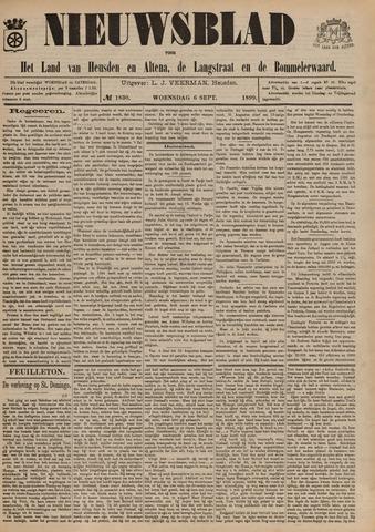 Nieuwsblad het land van Heusden en Altena de Langstraat en de Bommelerwaard 1899-09-06