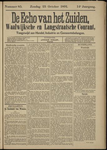 Echo van het Zuiden 1891-10-25