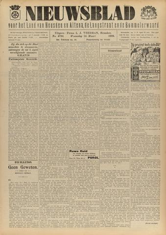 Nieuwsblad het land van Heusden en Altena de Langstraat en de Bommelerwaard 1928-03-14
