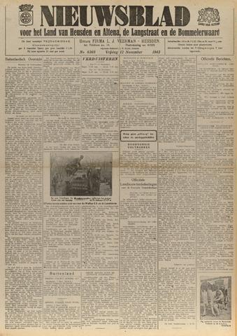 Nieuwsblad het land van Heusden en Altena de Langstraat en de Bommelerwaard 1943-11-12