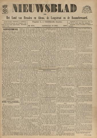 Nieuwsblad het land van Heusden en Altena de Langstraat en de Bommelerwaard 1902-12-13