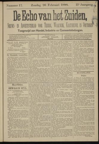 Echo van het Zuiden 1888-02-26