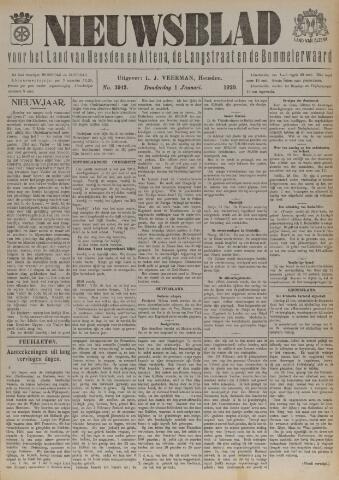 Nieuwsblad het land van Heusden en Altena de Langstraat en de Bommelerwaard 1920-01-01