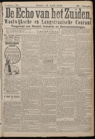 Echo van het Zuiden 1908-04-12