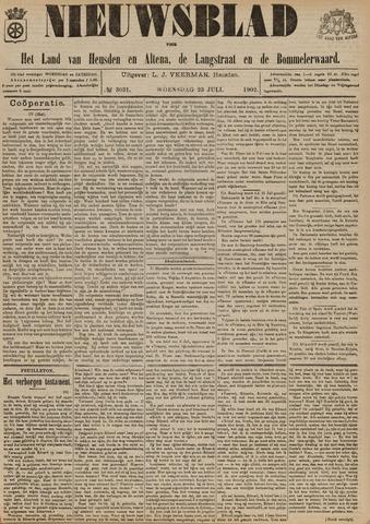 Nieuwsblad het land van Heusden en Altena de Langstraat en de Bommelerwaard 1902-07-23