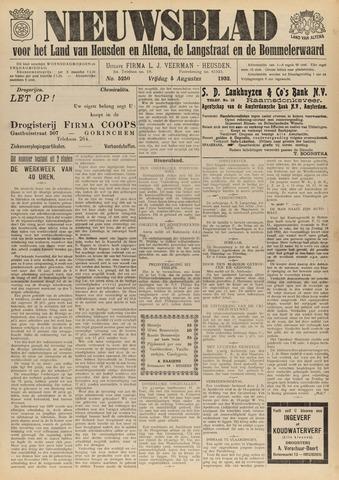 Nieuwsblad het land van Heusden en Altena de Langstraat en de Bommelerwaard 1932-08-05