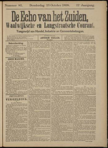 Echo van het Zuiden 1898-10-13