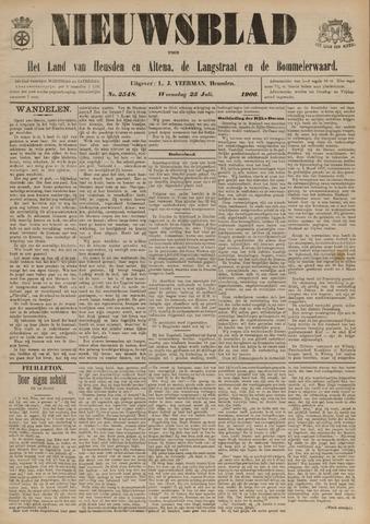 Nieuwsblad het land van Heusden en Altena de Langstraat en de Bommelerwaard 1906-07-25