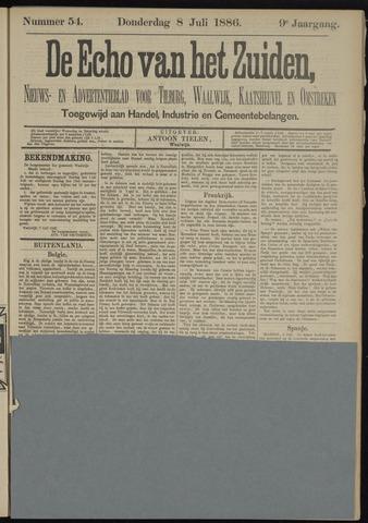 Echo van het Zuiden 1886-07-08