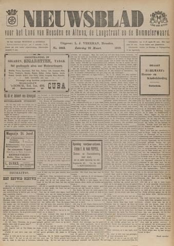 Nieuwsblad het land van Heusden en Altena de Langstraat en de Bommelerwaard 1919-03-22