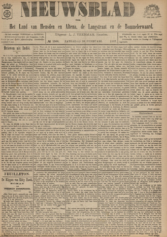 Nieuwsblad het land van Heusden en Altena de Langstraat en de Bommelerwaard 1897-02-20
