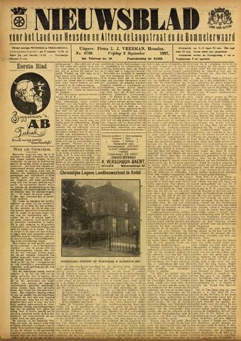 Nieuwsblad het land van Heusden en Altena de Langstraat en de Bommelerwaard 1927-09-02