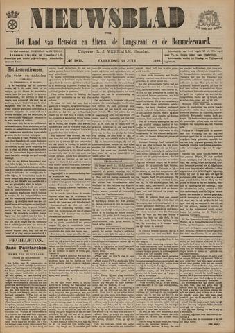 Nieuwsblad het land van Heusden en Altena de Langstraat en de Bommelerwaard 1899-07-29