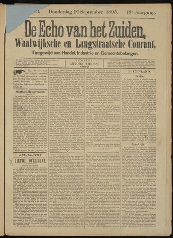 Echo van het Zuiden 1895-09-12