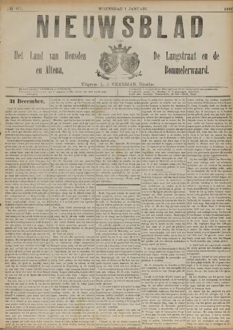 Nieuwsblad het land van Heusden en Altena de Langstraat en de Bommelerwaard 1890-01-01