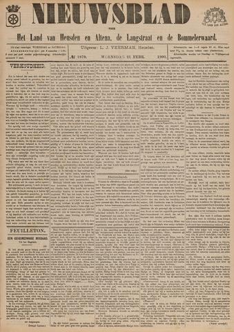 Nieuwsblad het land van Heusden en Altena de Langstraat en de Bommelerwaard 1900-02-21