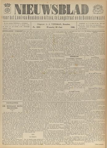 Nieuwsblad het land van Heusden en Altena de Langstraat en de Bommelerwaard 1920-06-23