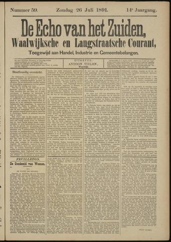 Echo van het Zuiden 1891-07-26