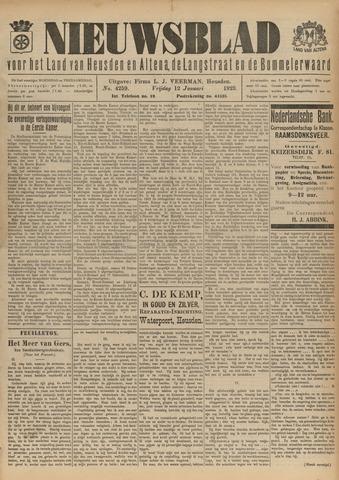 Nieuwsblad het land van Heusden en Altena de Langstraat en de Bommelerwaard 1923-01-12