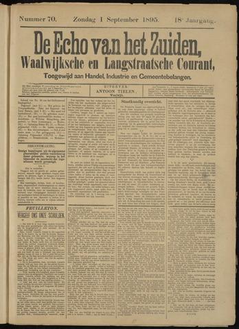 Echo van het Zuiden 1895-09-01