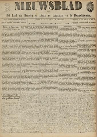 Nieuwsblad het land van Heusden en Altena de Langstraat en de Bommelerwaard 1893-01-14