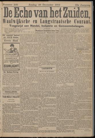 Echo van het Zuiden 1912-12-29
