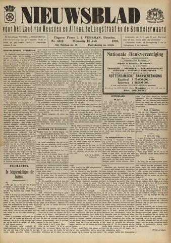 Nieuwsblad het land van Heusden en Altena de Langstraat en de Bommelerwaard 1923-07-18