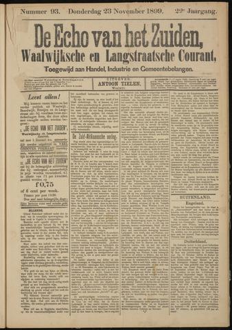 Echo van het Zuiden 1899-11-23