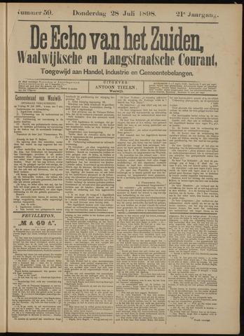 Echo van het Zuiden 1898-07-28