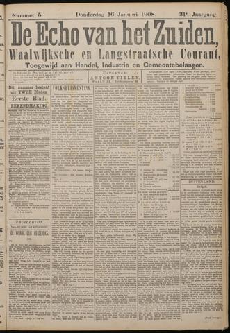 Echo van het Zuiden 1908-01-16