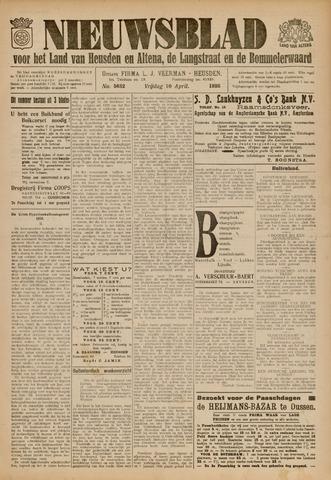 Nieuwsblad het land van Heusden en Altena de Langstraat en de Bommelerwaard 1936-04-10