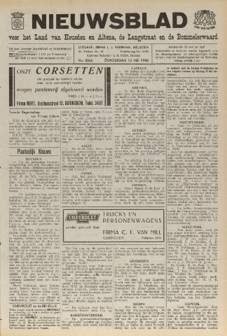 Nieuwsblad het land van Heusden en Altena de Langstraat en de Bommelerwaard 1948-05-13