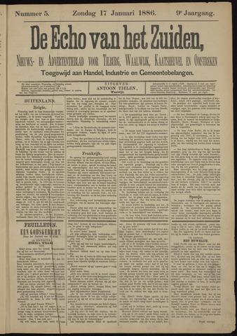 Echo van het Zuiden 1886-01-17