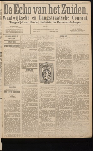 Echo van het Zuiden 1936-01-15