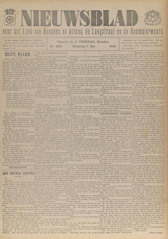 Nieuwsblad het land van Heusden en Altena de Langstraat en de Bommelerwaard 1919-05-07