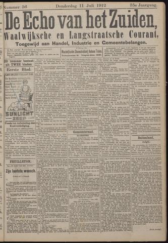 Echo van het Zuiden 1912-07-11