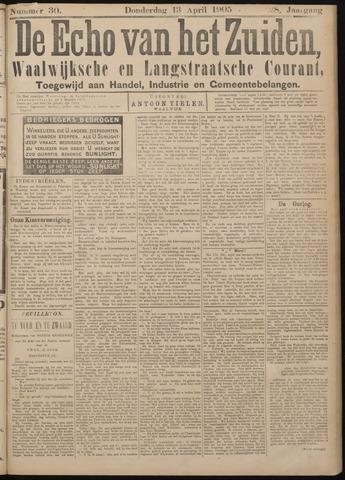 Echo van het Zuiden 1905-04-13