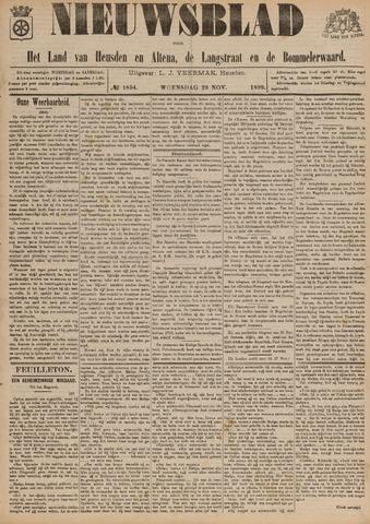 Nieuwsblad het land van Heusden en Altena de Langstraat en de Bommelerwaard 1899-11-29