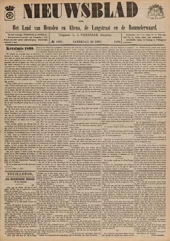 Nieuwsblad het land van Heusden en Altena de Langstraat en de Bommelerwaard 1899-12-23