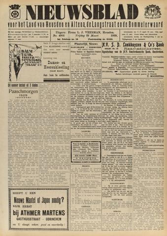 Nieuwsblad het land van Heusden en Altena de Langstraat en de Bommelerwaard 1929-03-29