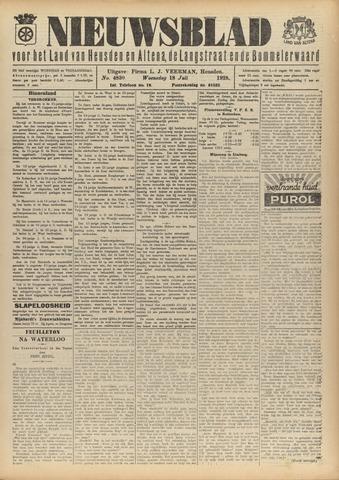 Nieuwsblad het land van Heusden en Altena de Langstraat en de Bommelerwaard 1928-07-18