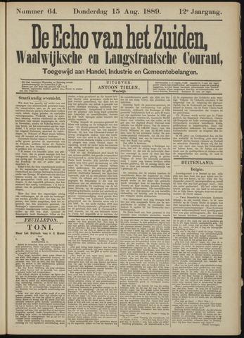 Echo van het Zuiden 1889-08-15