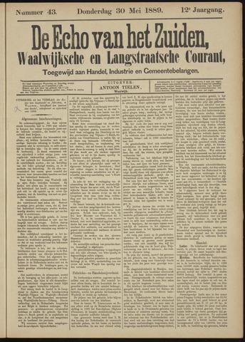 Echo van het Zuiden 1889-05-30