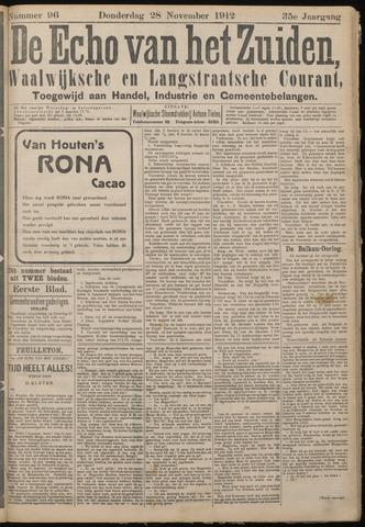 Echo van het Zuiden 1912-11-28