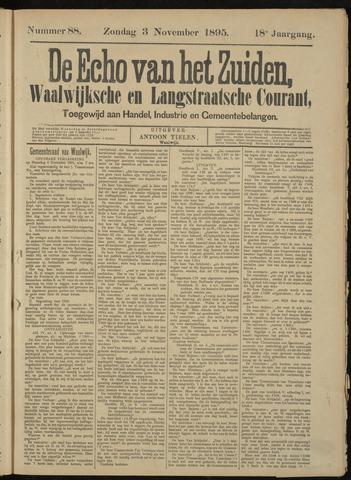Echo van het Zuiden 1895-11-07
